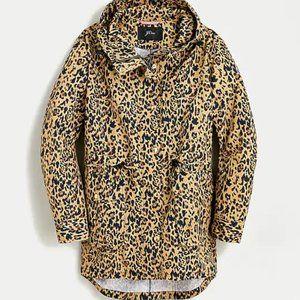 Perfect rain jacket in leopard print
